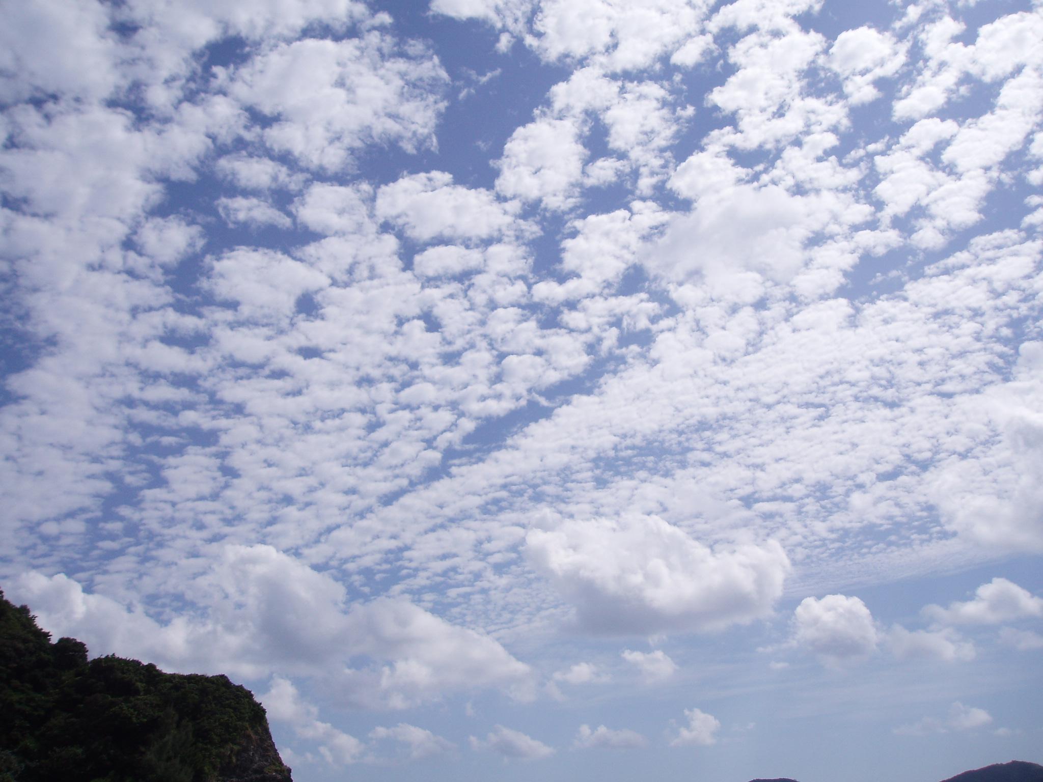9月1日 曇り空。