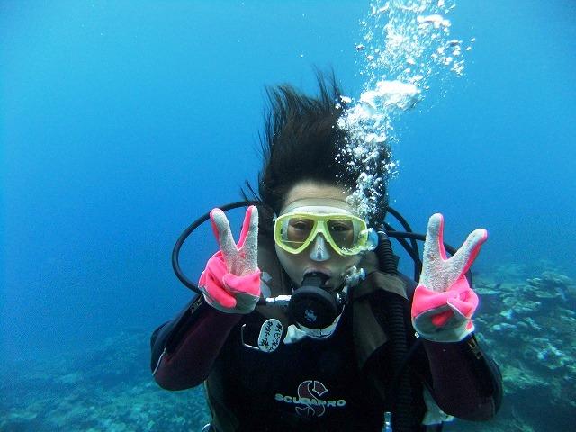 2回目の体験ダイビング